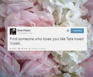 ahs, evan peters, and love image