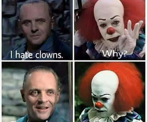 clown, funny, and hannibal image