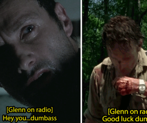 glenn, the walking dead, and twd image