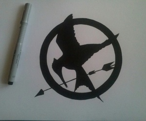 draw, the hunger game, and drawing image