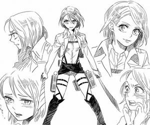 anime, petra, and shingeki no kyojin image
