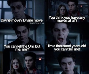 teen wolf, void stiles, and holland roden image