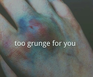 grunge, hand, and alternative image