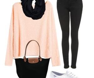 casual, moda, and invierno image