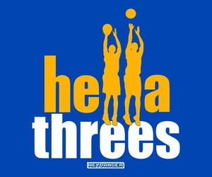 klay thompson, steph curry, and the splash brothers image