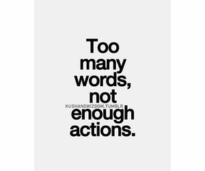 enough, not, and words image