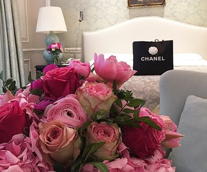 flowers, beauty, and chanel image