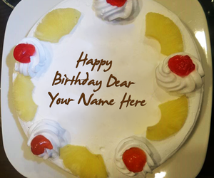 28 images about Write Name On Birthday Cakes on We Heart It See
