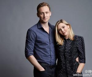 elizabeth olsen, tom hiddleston, and Marvel image