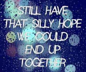 hope, rain, and together image