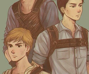 Minho, newt, and thomas image