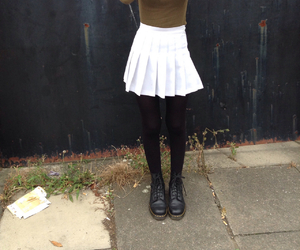 american apparel, doc martens, and fashion image