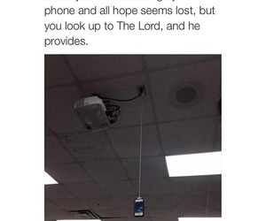 charger, phone, and funny image