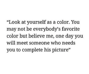 quotes, color, and life image