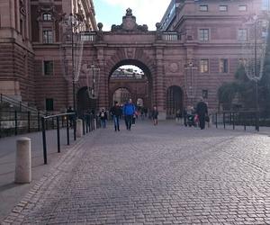 stockholm, trip, and riksdagen image