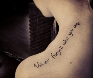 forever, forget, and Tattoos image