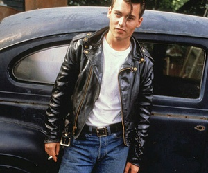 cry baby, johnny depp, and rock image