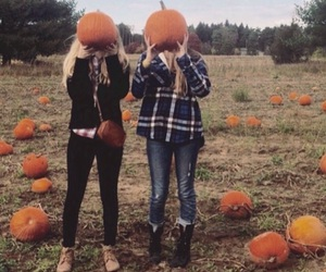 autumn, bffs, and blonde image