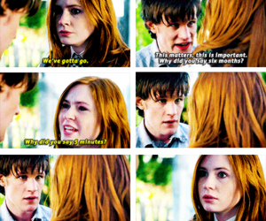 doctorwho, amypond, and thedoctor image