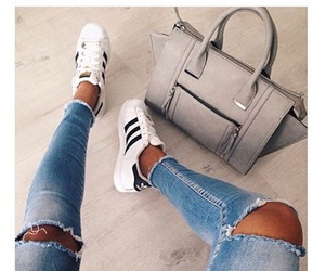 adidas, fashion, and bag image