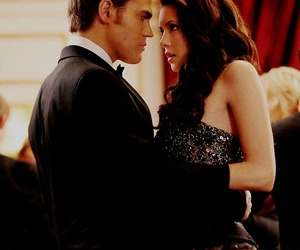 tvd, the vampire diaries, and stelena image