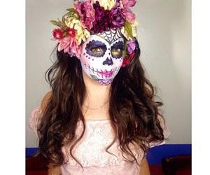 catrina, dia de muertos, and makeup image