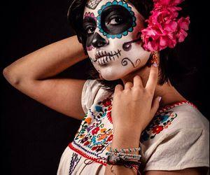 catrina, dia de muertos, and Halloween image