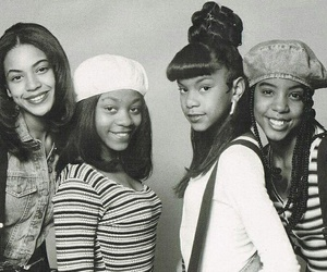 destiny's child, kelly rowland, and queen bey image