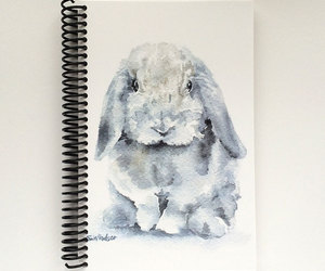 animals, art journal, and etsy image