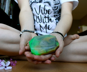 crystals, soap, and healing stones image