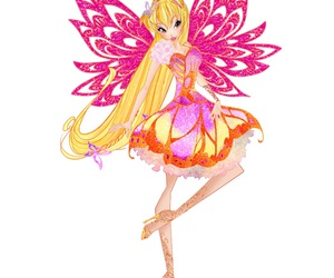 stella, winxclub, and butterflix image