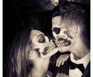 love, couple, and Halloween image