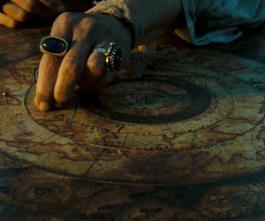 map and pirates of the caribbean image