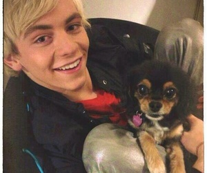 ross lynch, dog, and pixie image