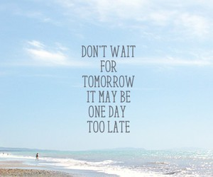 quote, beach, and wallpaper image