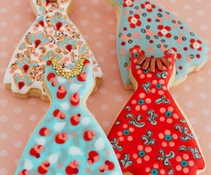 Cookies, dress, and food image