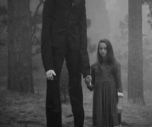 slenderman, slender, and horror image
