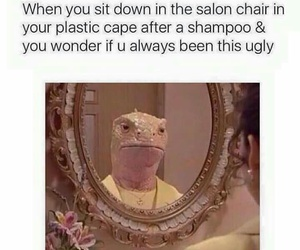 funny, ugly, and salon image