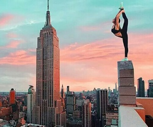 city, fitness, and new york image
