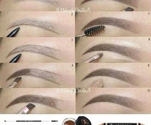 eyebrows and tutorial image