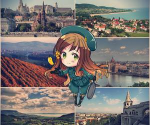 anime, aph, and Collage image
