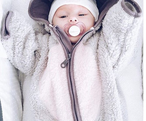baby, cosy, and white image