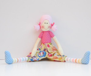 cloth doll, doll, and etsy image
