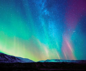 stars, colors, and sky image