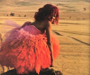 rihanna, dress, and pink image