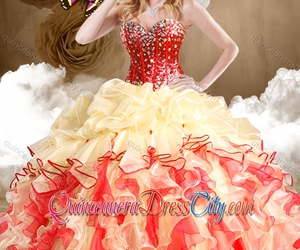 dress, dresses, and quinceanera image