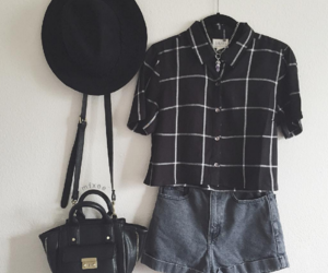 black, bag, and fashion image
