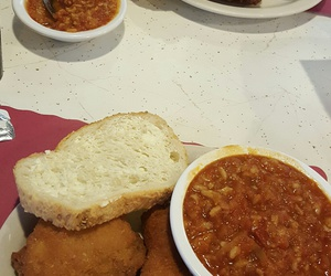 food, fried chicken, and comfort food image