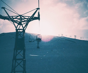 chairlift, life, and mountains image
