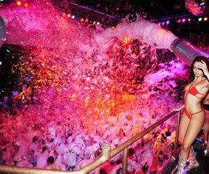 foam and party image